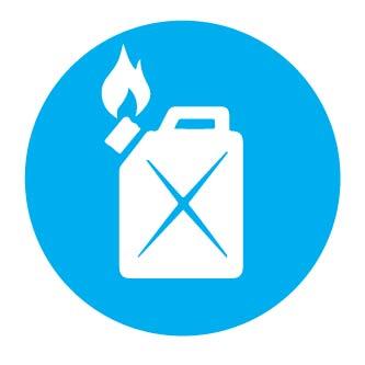 kelas kebakaran gas bensin