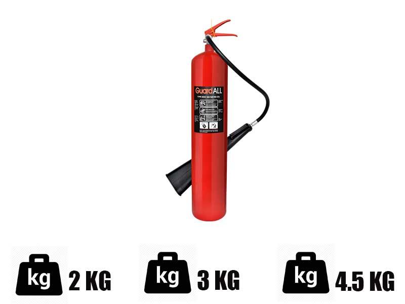 Berat Alat Pemadam Api Ringan Bermedia CO2