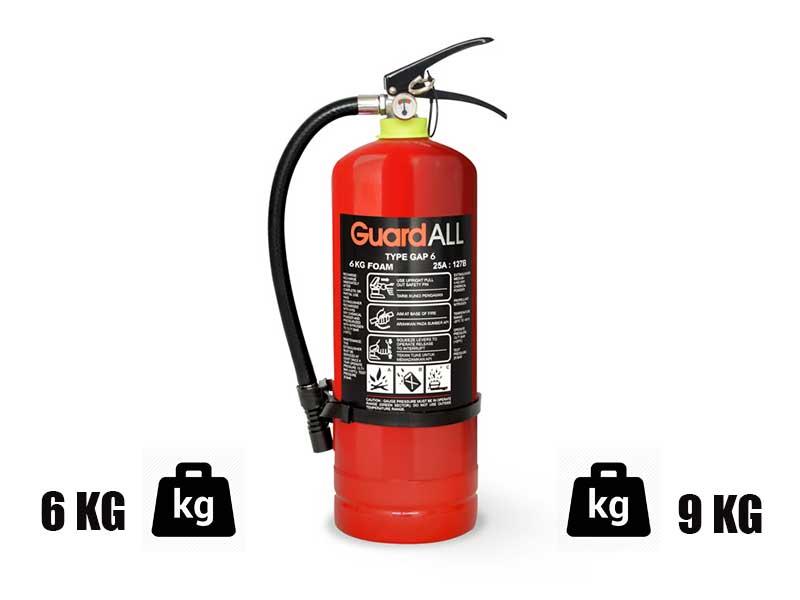 Berat Alat Pemada Api Ringan Bermedia Foam