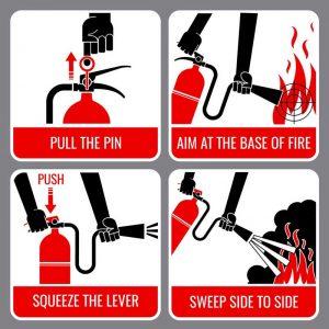 Alat Pemadam Api Jenis ABC dan Metode Menggunakannya