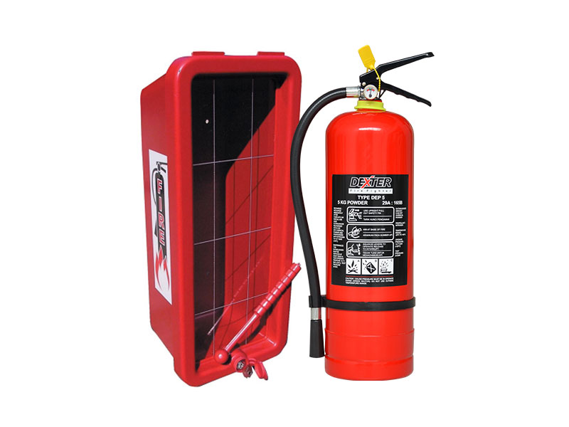 Box Alat Pemadam Api Ringan dan Ciri-cirinya