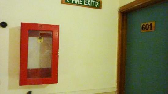 Box Alat Pemadam Api Ringan di Apartmen