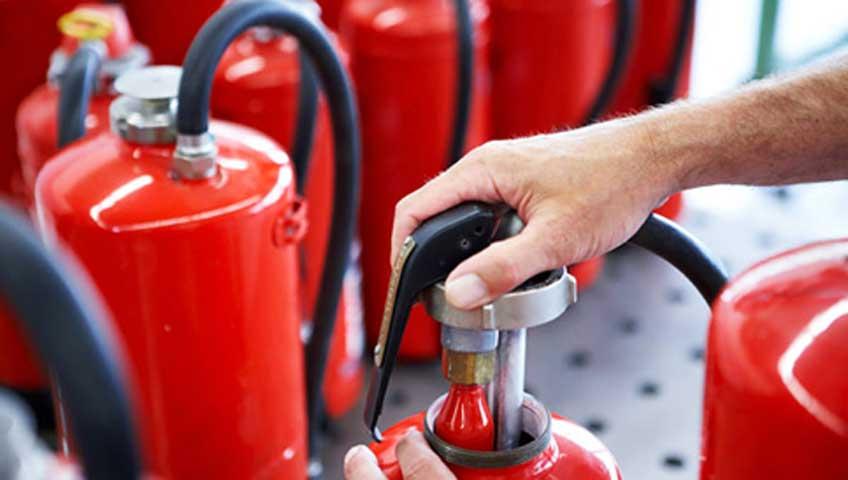 Cara Isi Ulang Alat Pemadam Api Ringan Proses Pengosongan Tabung APAR
