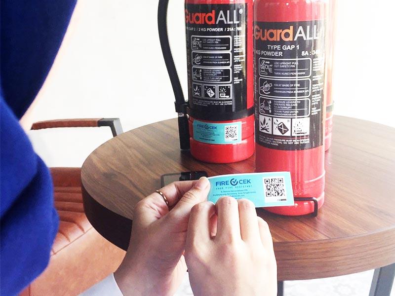 Form Pengecekan APAR Digital dengan Stiker QR Code Firecek