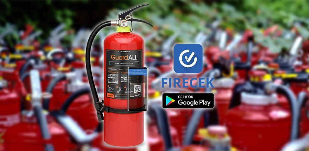 Alat Pemadam Api Powder Bisa Dimonitor Menggunakan Aplikasi APAR Firecek