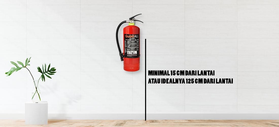 Alat Pemadam Api Ringan dan Cara Merawatnya