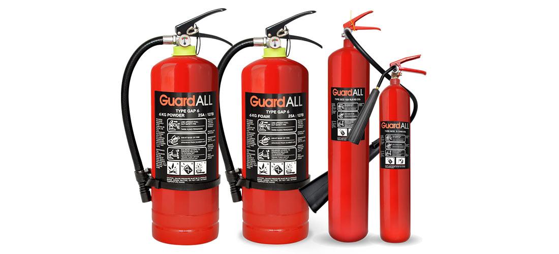 Alat Pemadam Kebakaran Portable dan Medianya