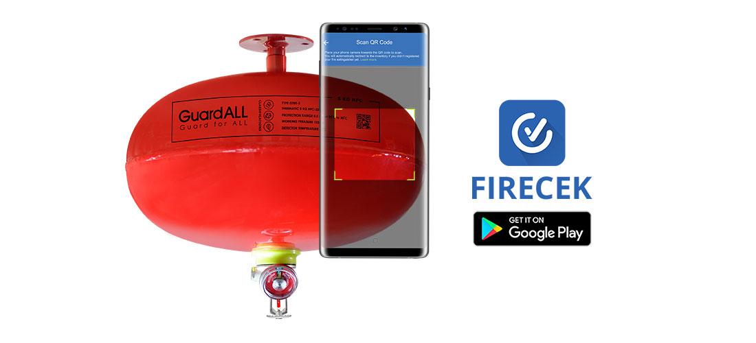 Alat Pemadam Api Otomatis Inspeksi Aplikasi Firecek