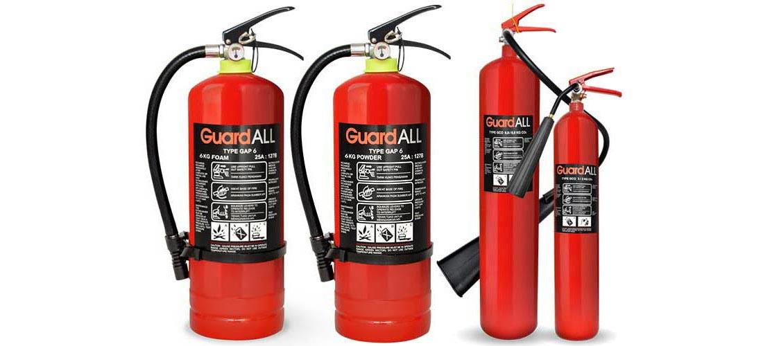 Alat Pemadam Kebakaran Ringan Jenis Media Pemadam Api