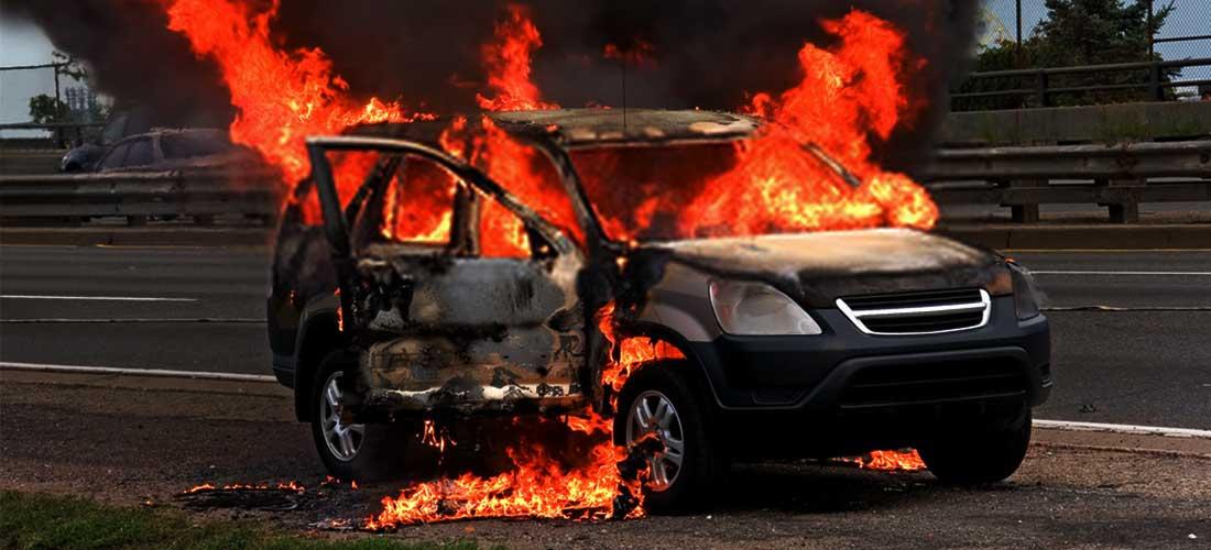 Hand Sanitizer Terbakar di Mobil Viral