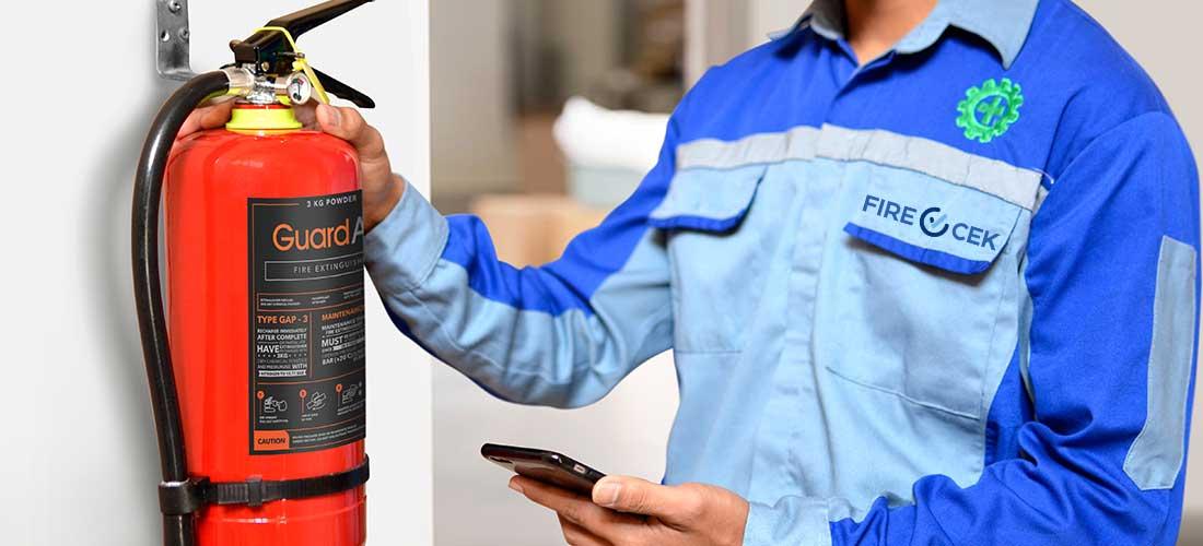 Cara Merawat APAR Powder Supaya Tidak Menggumpal Pakai Aplikasi Cek APAR Firecek