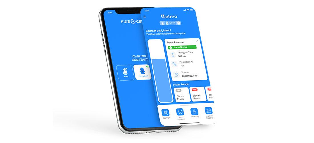 Cara Pemeliharaan Hydrant Mudah dengan Smartphone