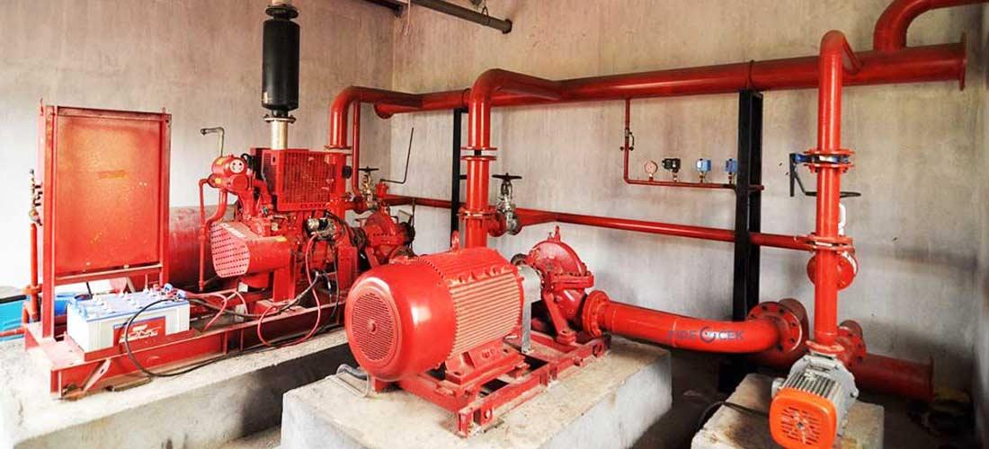 Pemeliharaan Pompa Hydrant Sesuai SOP